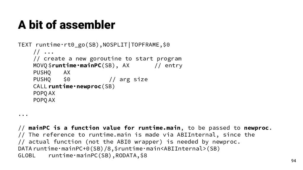 TEXT runtime·rt0_go(SB),NOSPLIT TOPFRAME,$0 // ...