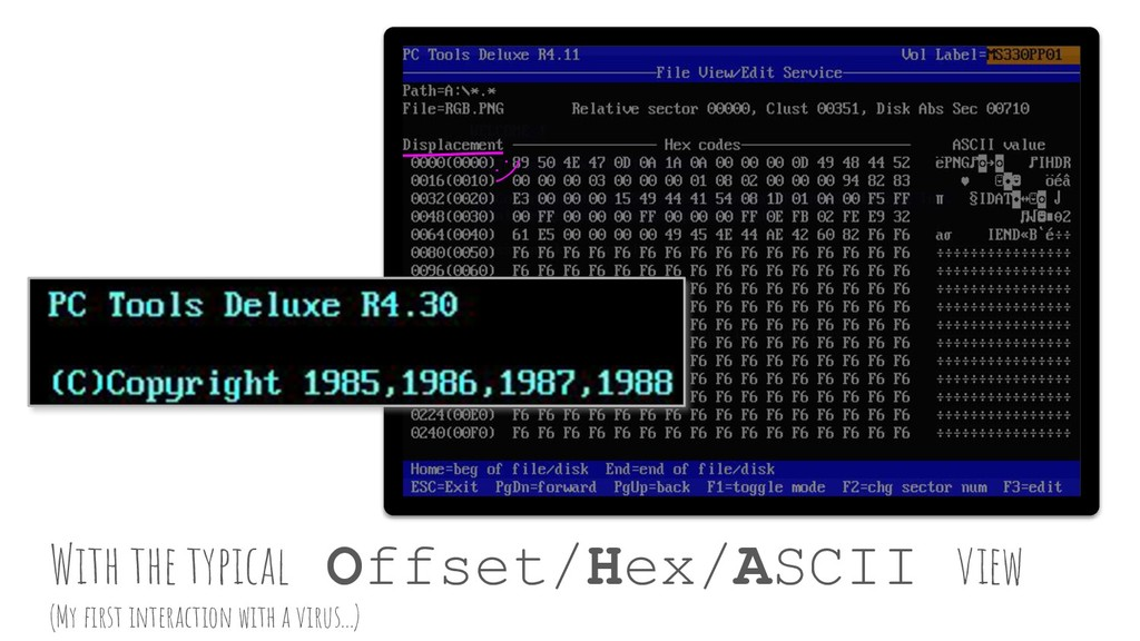 PC Tools Deluxe R4.11 (C) Copyright 1985,1986,1...