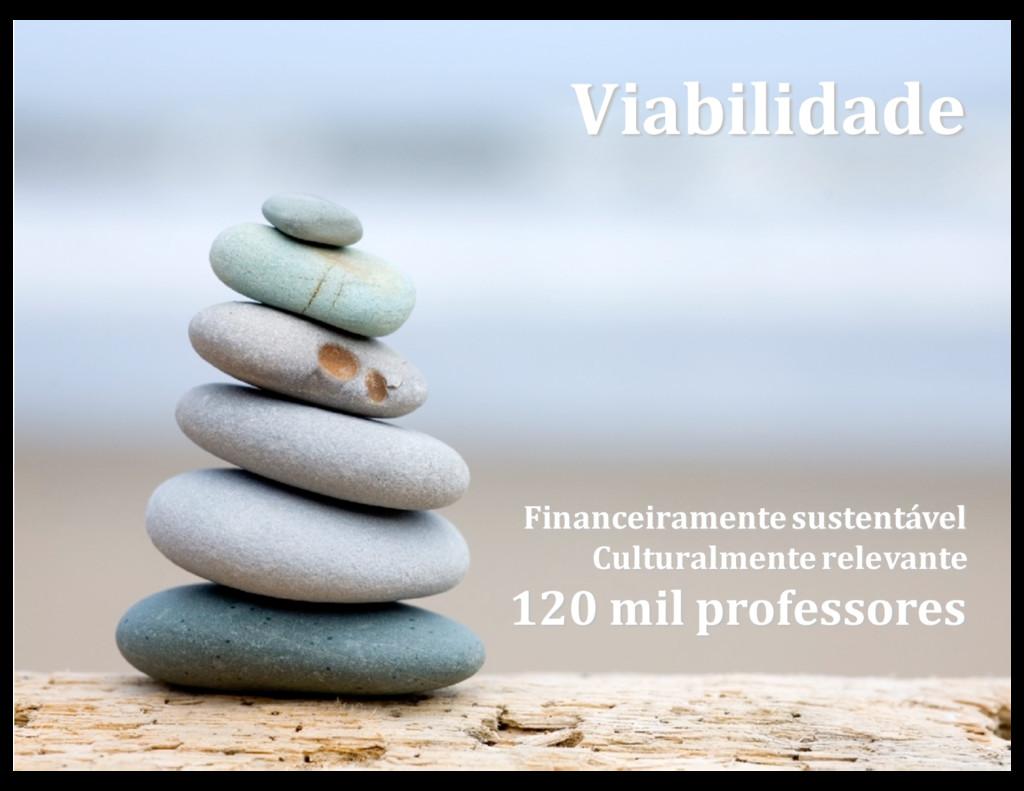 Financeiramente sustentável Culturalmente relev...