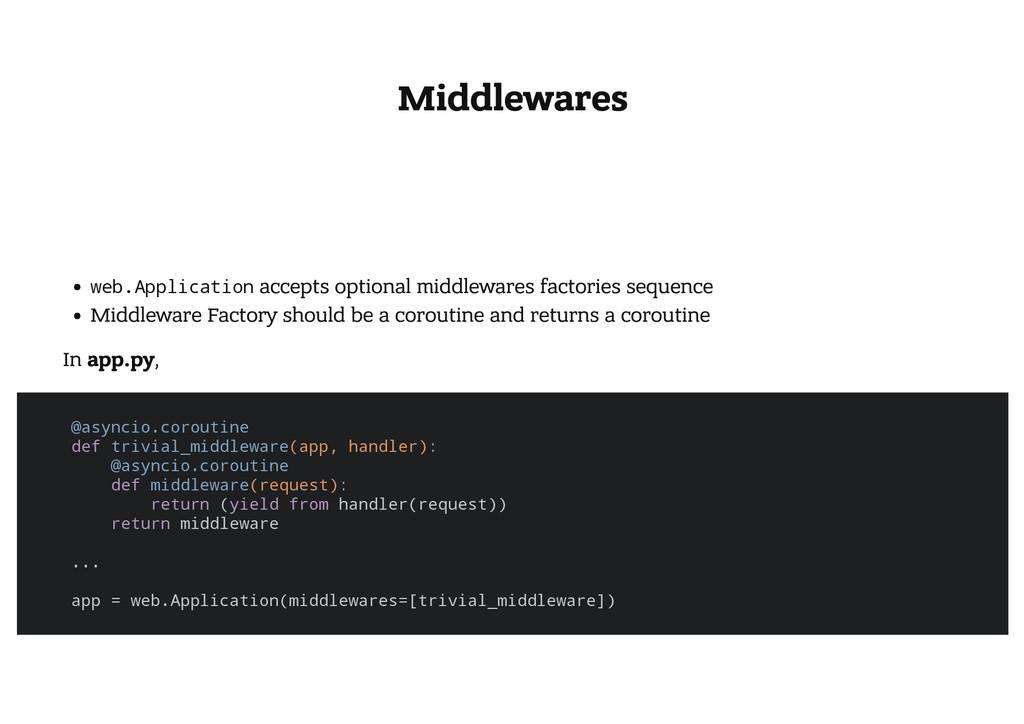 Middlewares w e b . A p p l i c a t i o n accep...