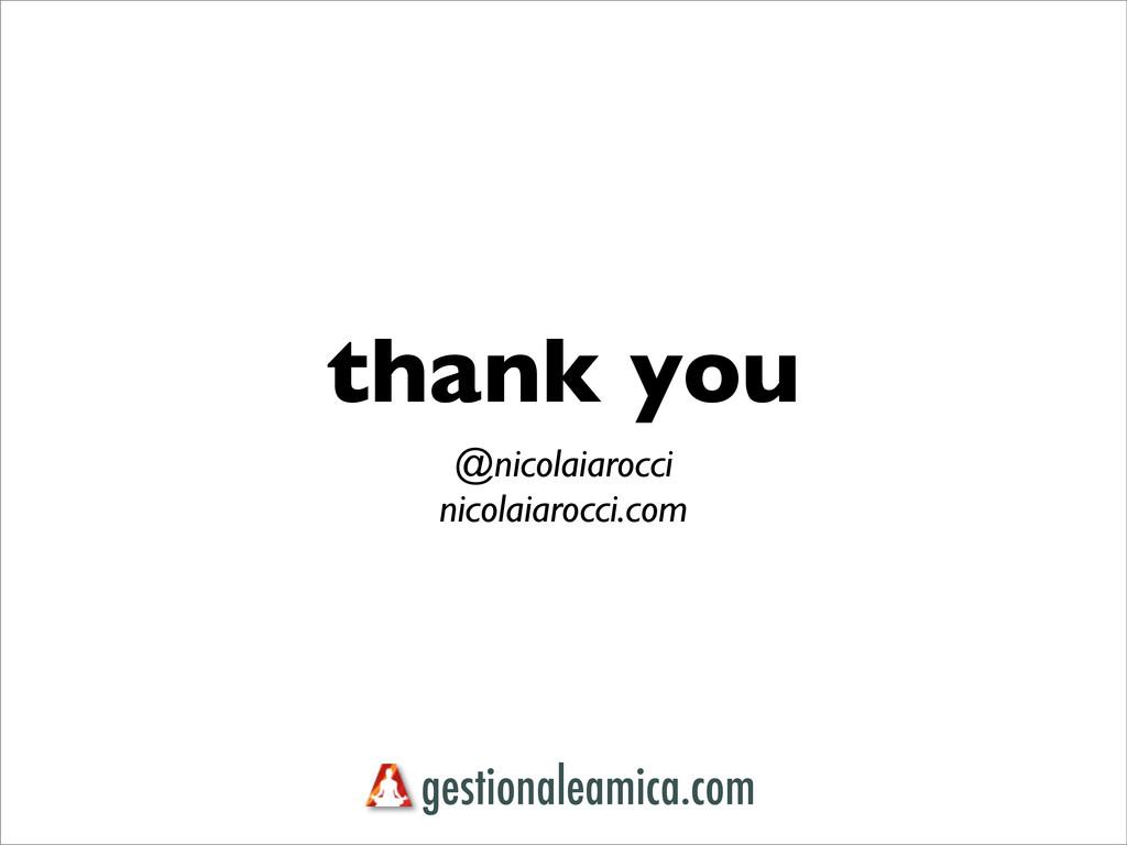 thank you @nicolaiarocci nicolaiarocci.com gest...