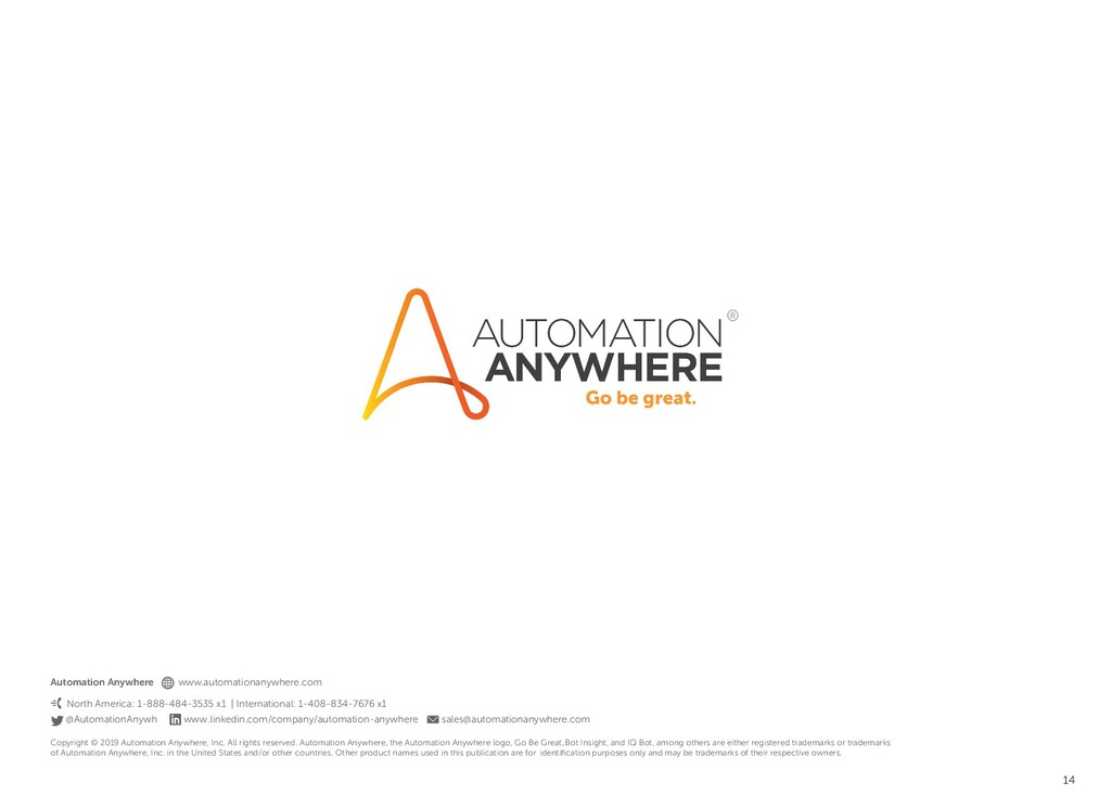 14 Automation Anywhere www.automationanywhere.c...