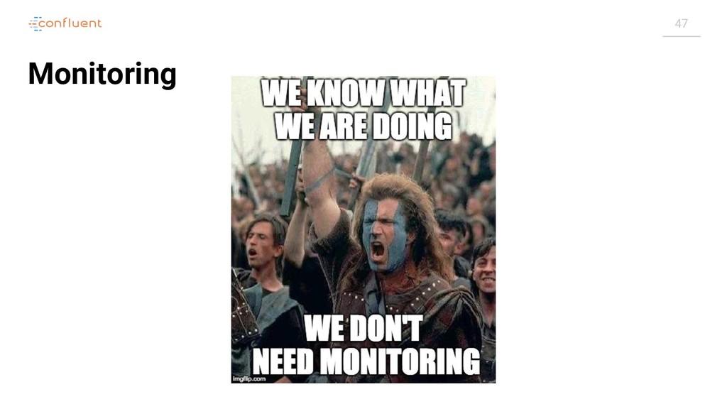47 Monitoring