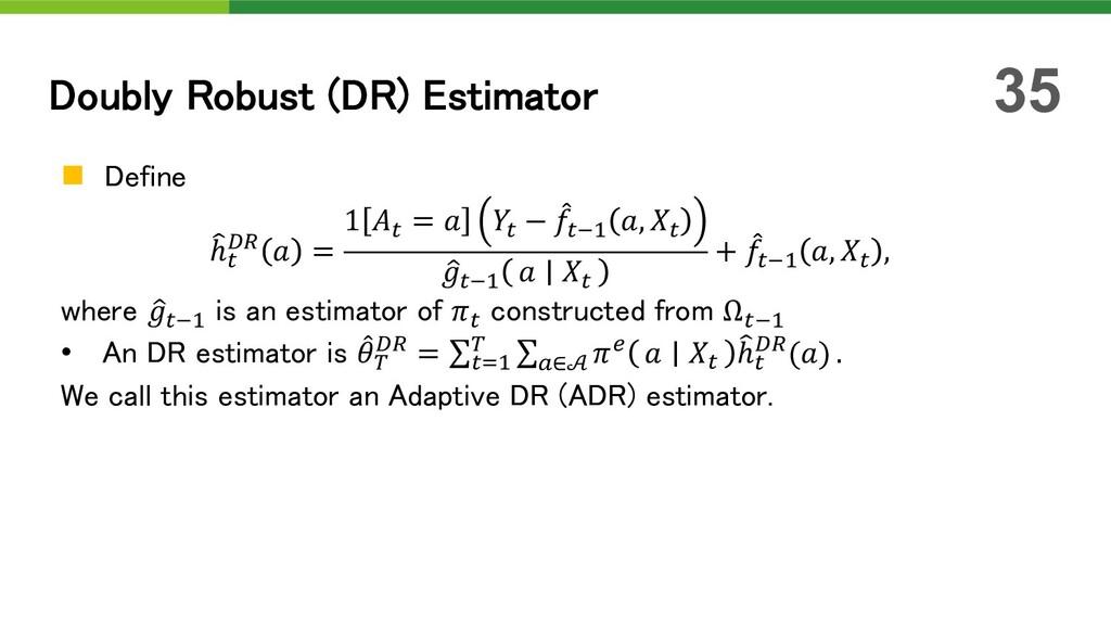 n Define U ℎ! ML  = 1 ! =  ! − H !*# , ! D !*# ...