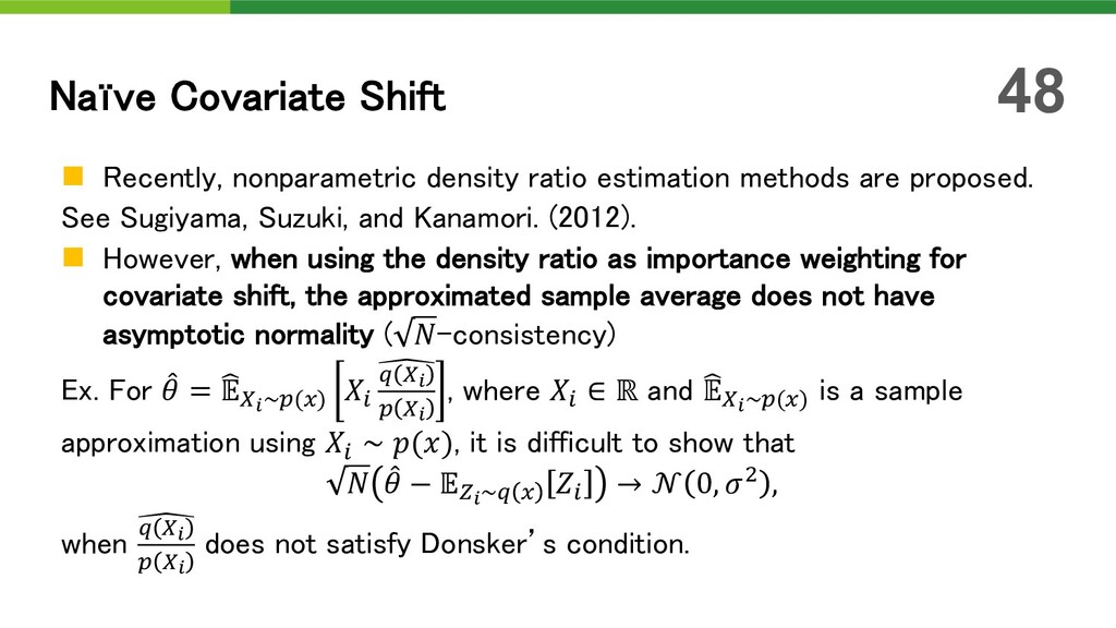 n Recently, nonparametric density ratio estimat...