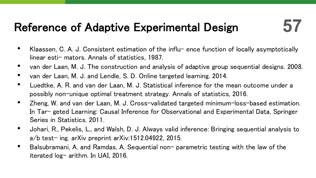 • Klaassen, C. A. J. Consistent estimation of t...