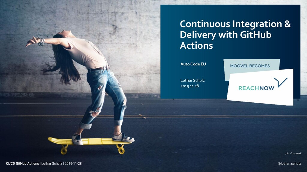 Continuous Integration & Delivery with GitHub A...