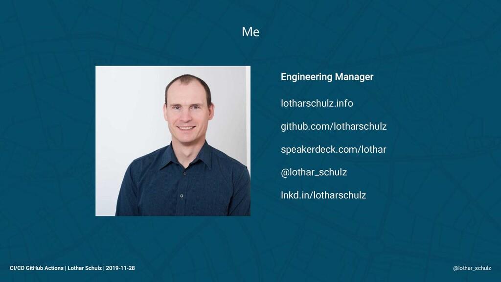 lotharschulz.info github.com/lotharschulz speak...