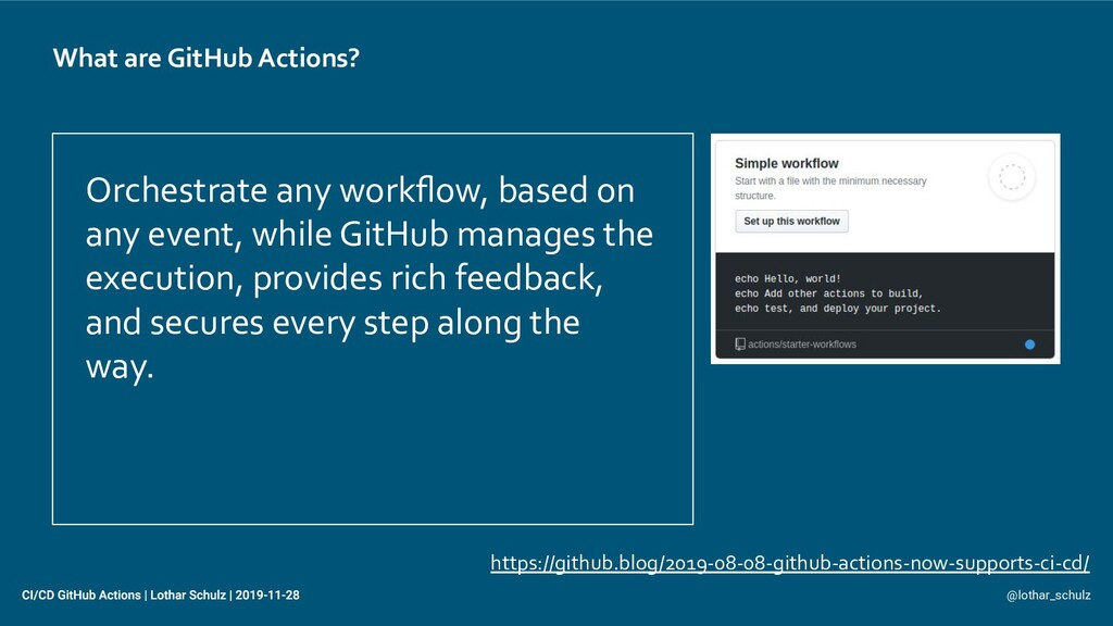 What are GitHub Actions? Orchestrate any workflo...