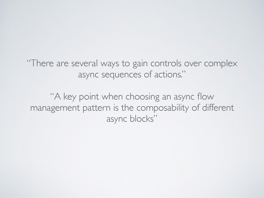 """There are several ways to gain controls over c..."