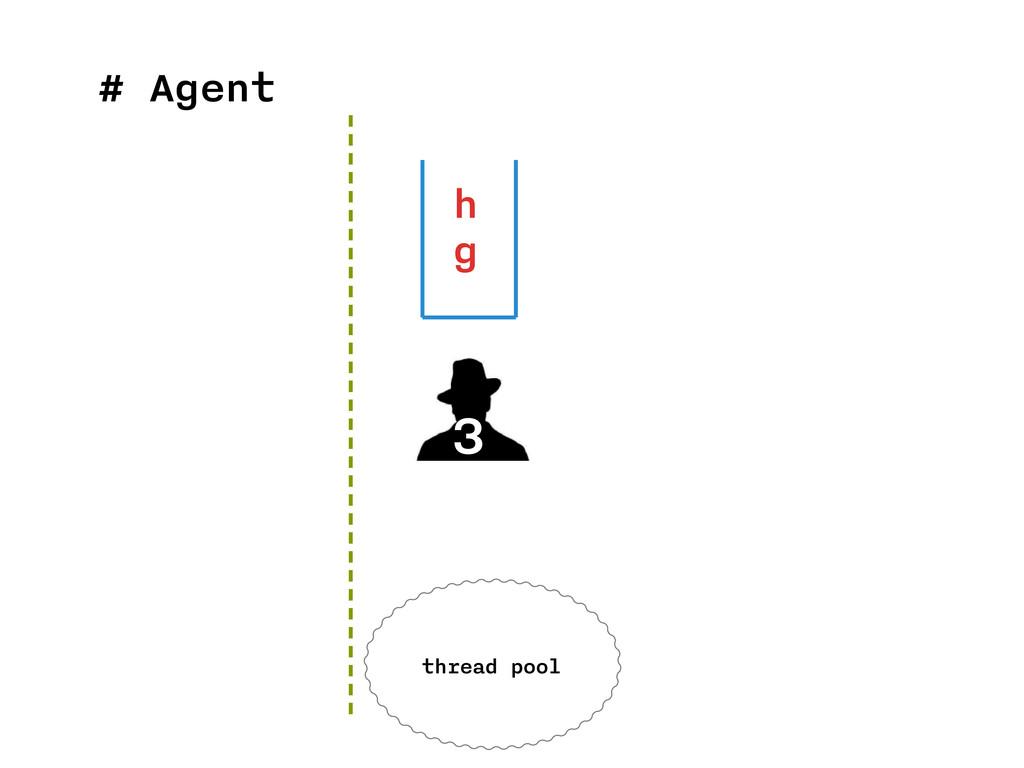 # Agent 3 h g thread pool