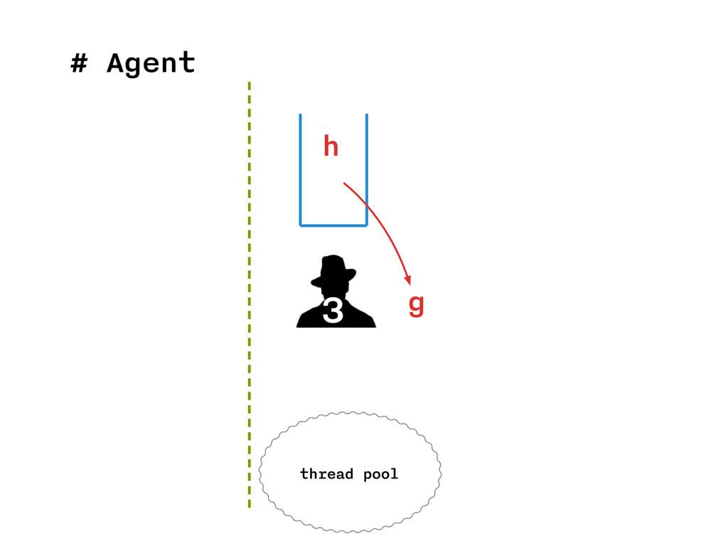 # Agent 3 h thread pool g