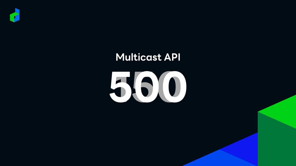 Multicast API 150 500