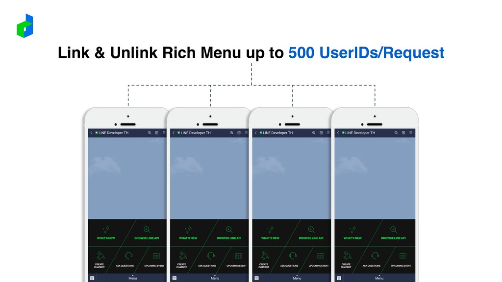 Link & Unlink Rich Menu up to 500 UserIDs/Reque...