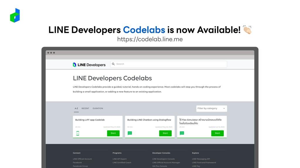 https://codelab.line.me LINE Developers Codelab...