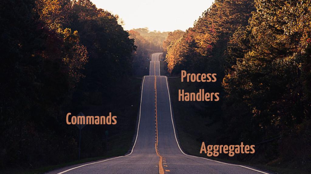 Commands Aggregates Process Handlers