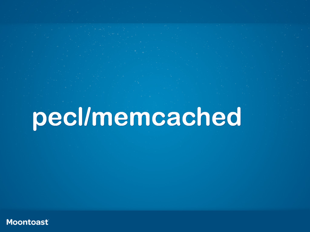 pecl/memcached