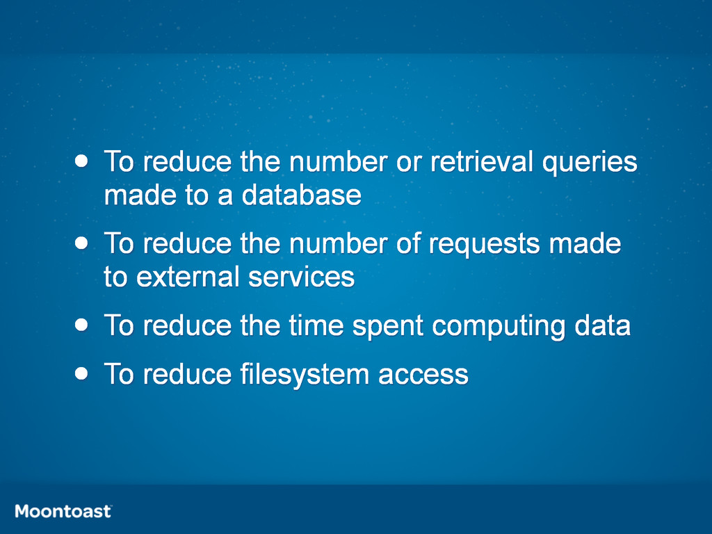 • To reduce the number or retrieval queries mad...