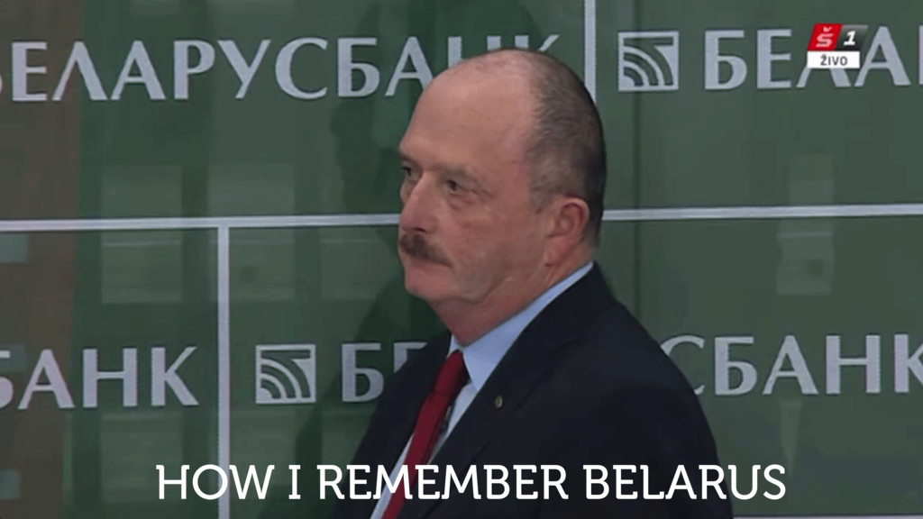 HOW I REMEMBER BELARUS