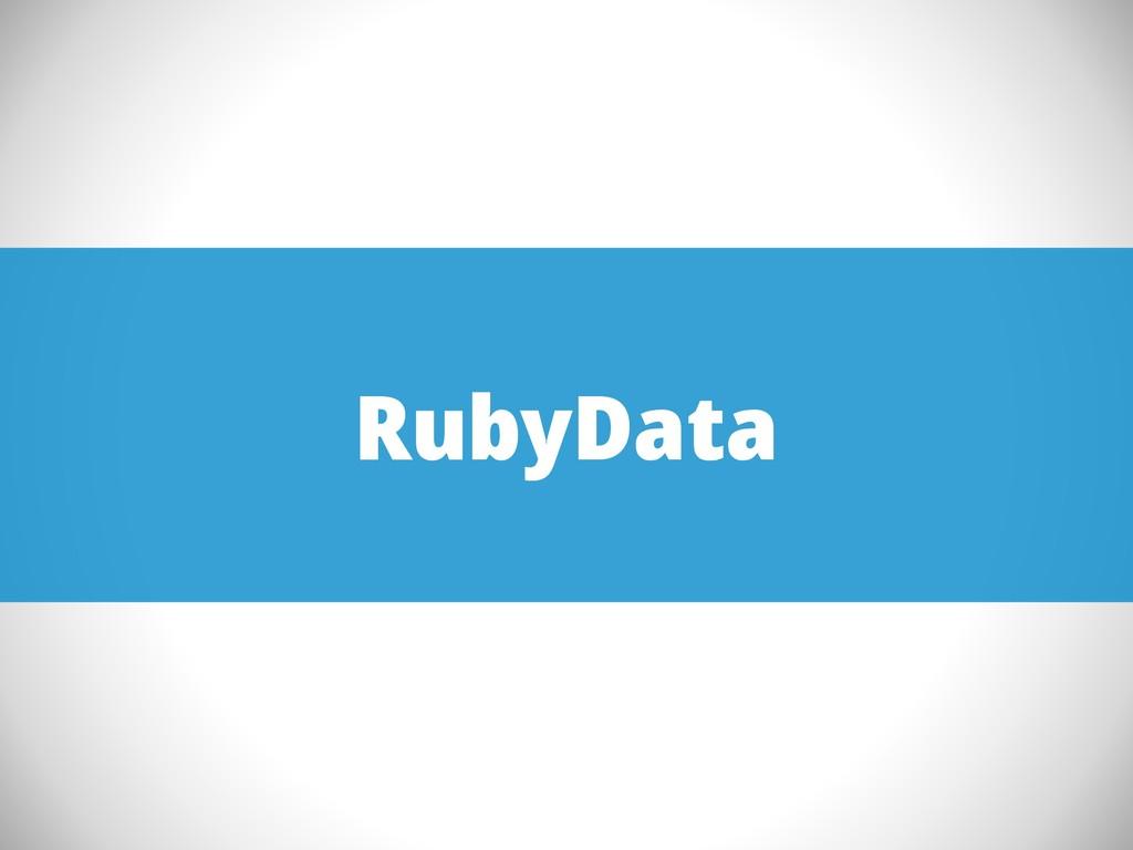 RubyData