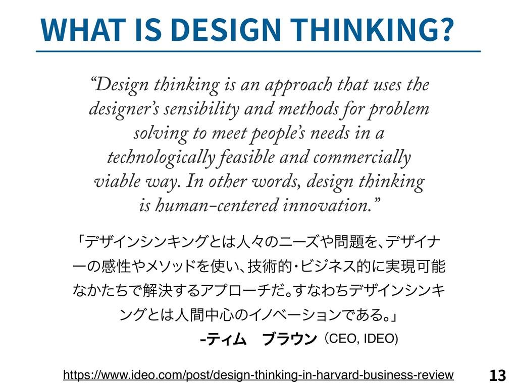 """8)""""5*4%&4*(/5)*/,*/(   """"Design thinking i..."""