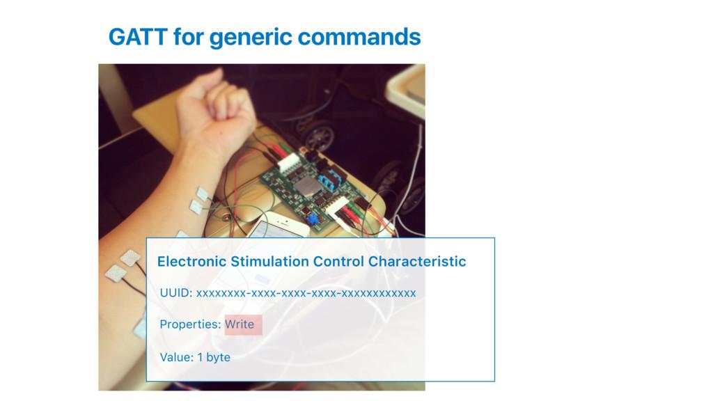 GATT for generic commands Electronic Stimulatio...