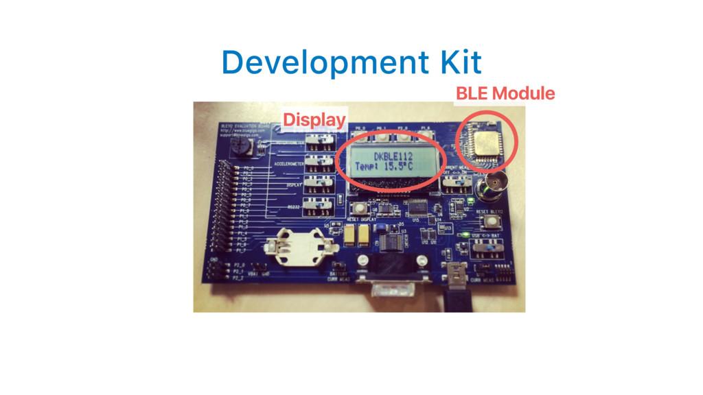Development Kit BLE Module Display