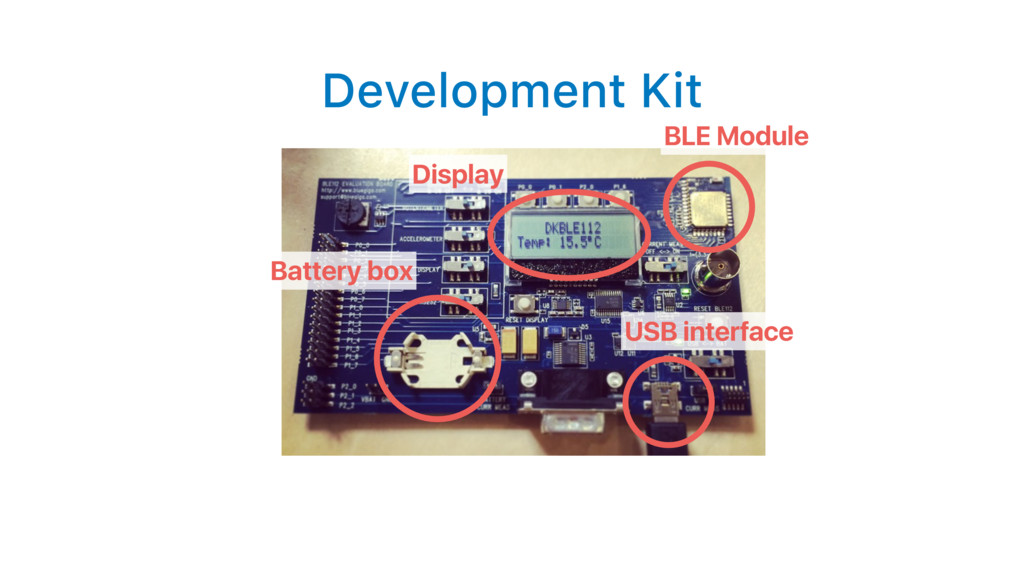 Development Kit BLE Module Display USB interfac...