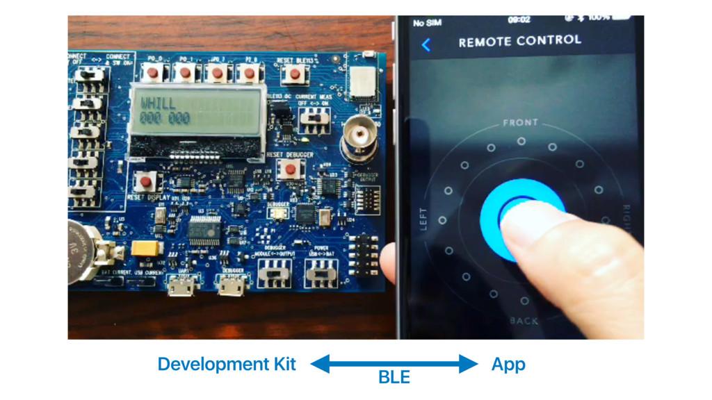 Development Kit App BLE