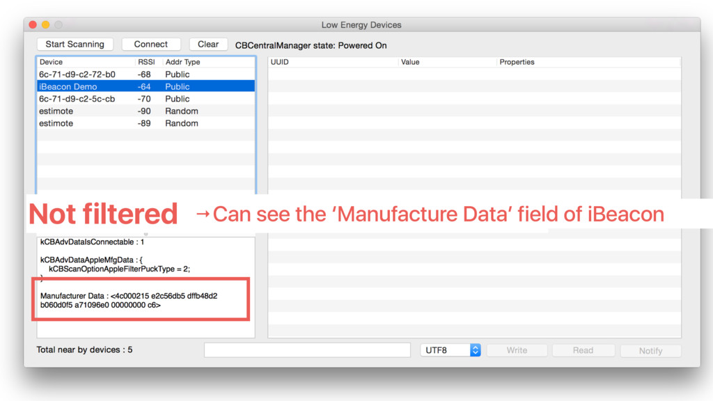 Not filtered →Can see the 'Manufacture Data' fi...