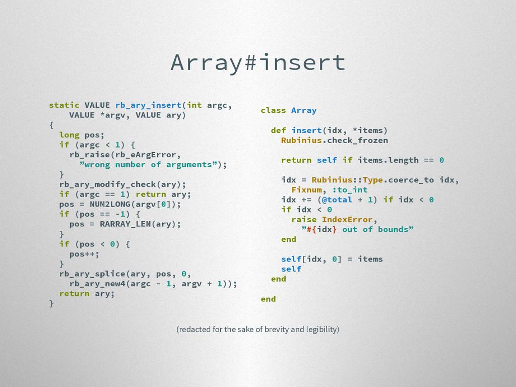 Array#insert static VALUE rb_ary_insert(int arg...