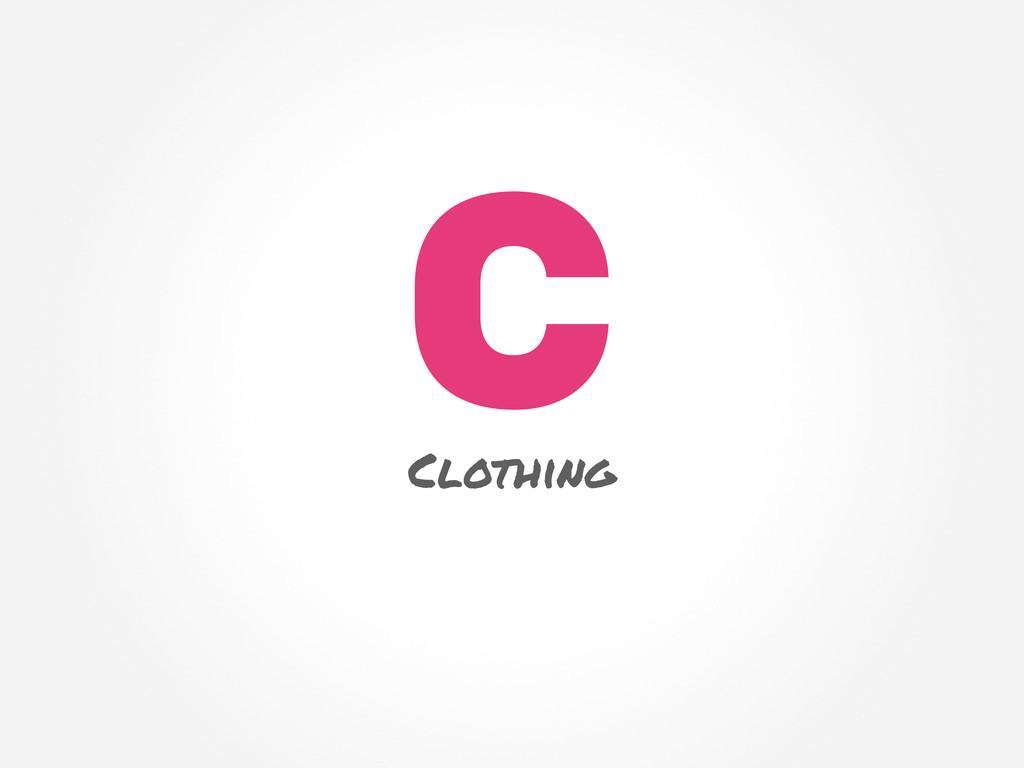 C Clothing