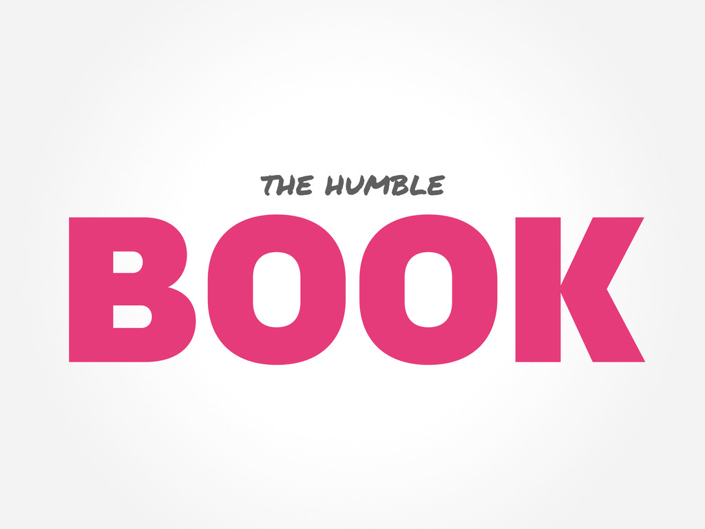 BOOK the humble