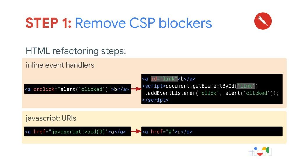 javascript: URIs inline event handlers HTML ref...