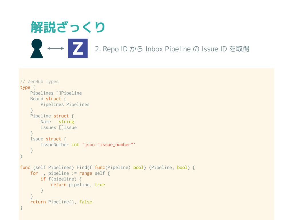 // ZenHub Types type ( Pipelines []Pipeline Boa...