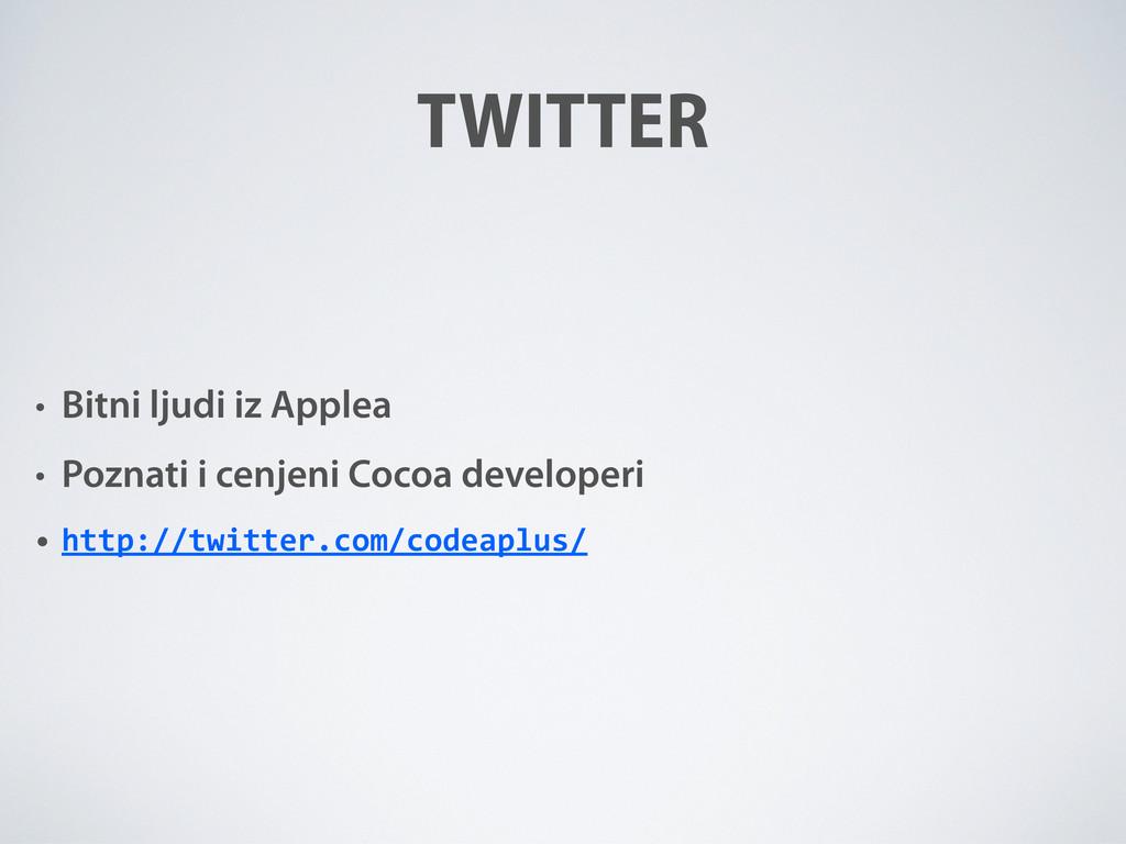 • Bitni ljudi iz Applea • Poznati i cenjeni Coc...