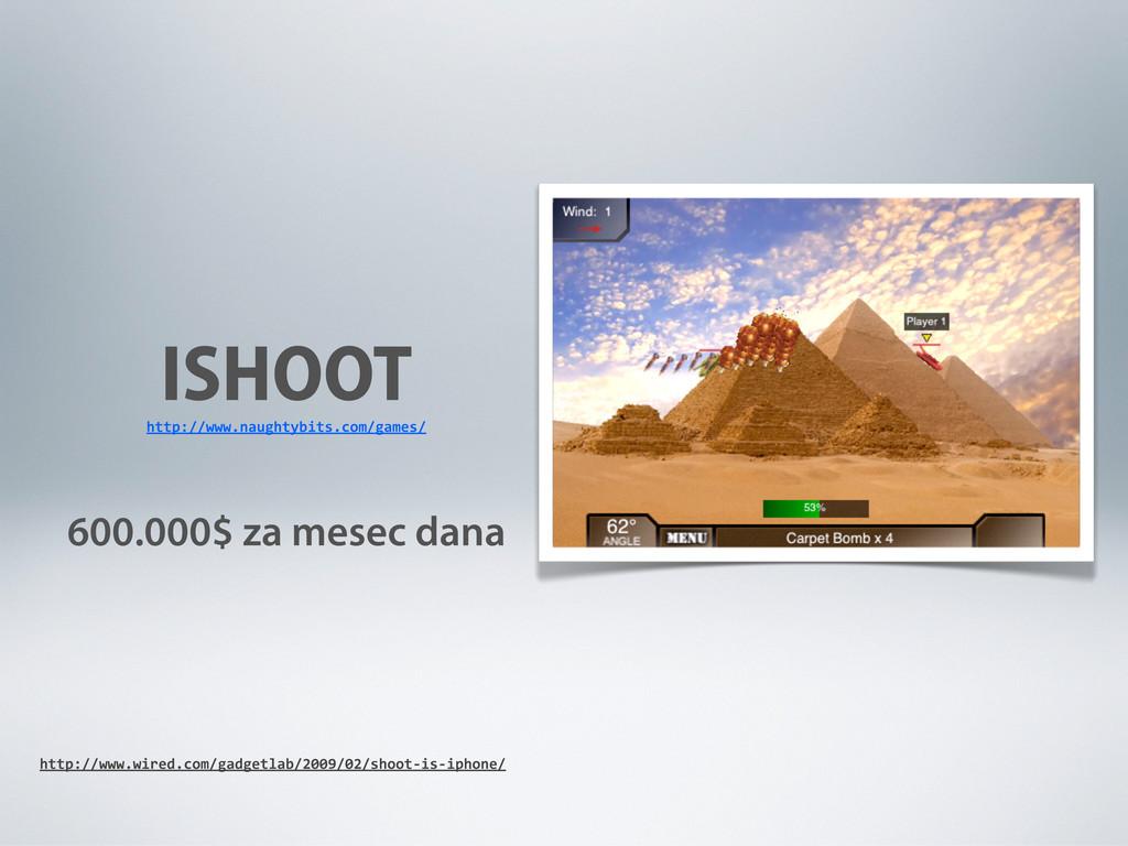 ISHOOT 600.000$ za mesec dana http://www.naught...