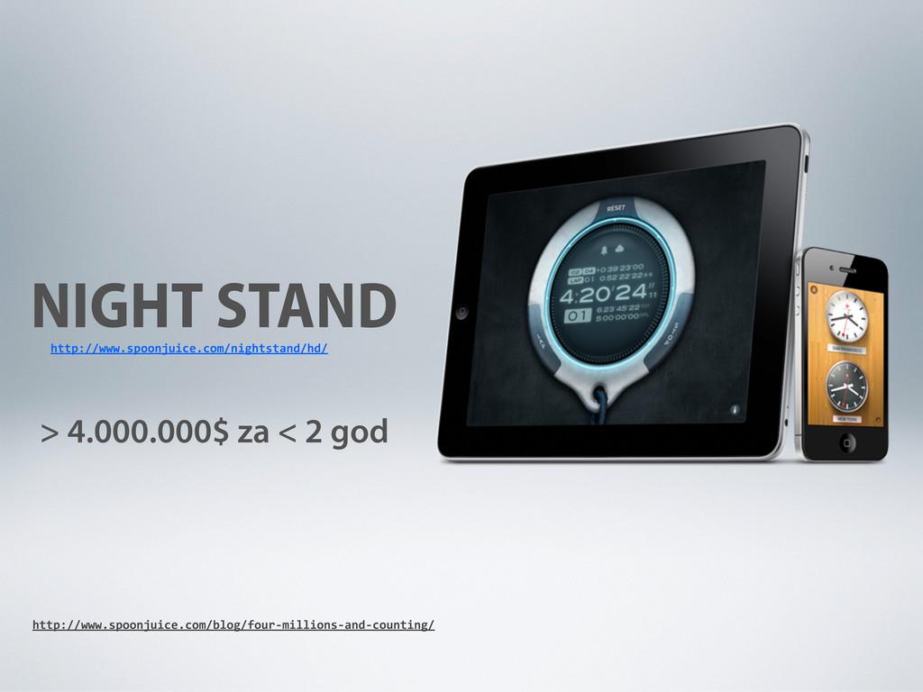 NIGHT STAND > 4.000.000$ za < 2 god http://www....