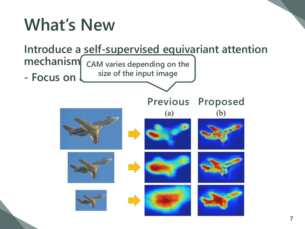 What's New Introduce a self-supervised equivari...