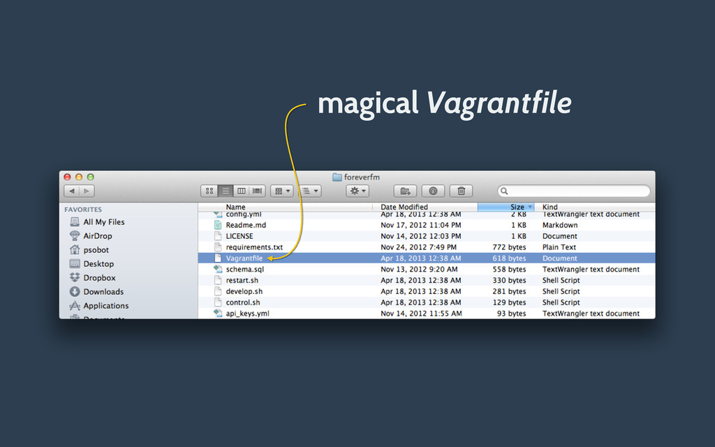 magical Vagrantfile