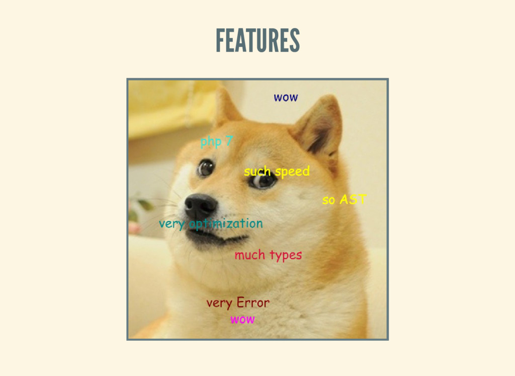 FEATURES