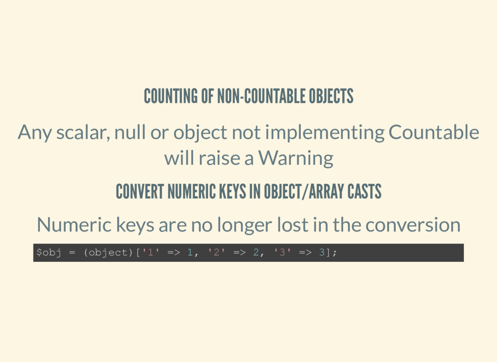 COUNTING OF NON-COUNTABLE OBJECTS Any scalar, n...