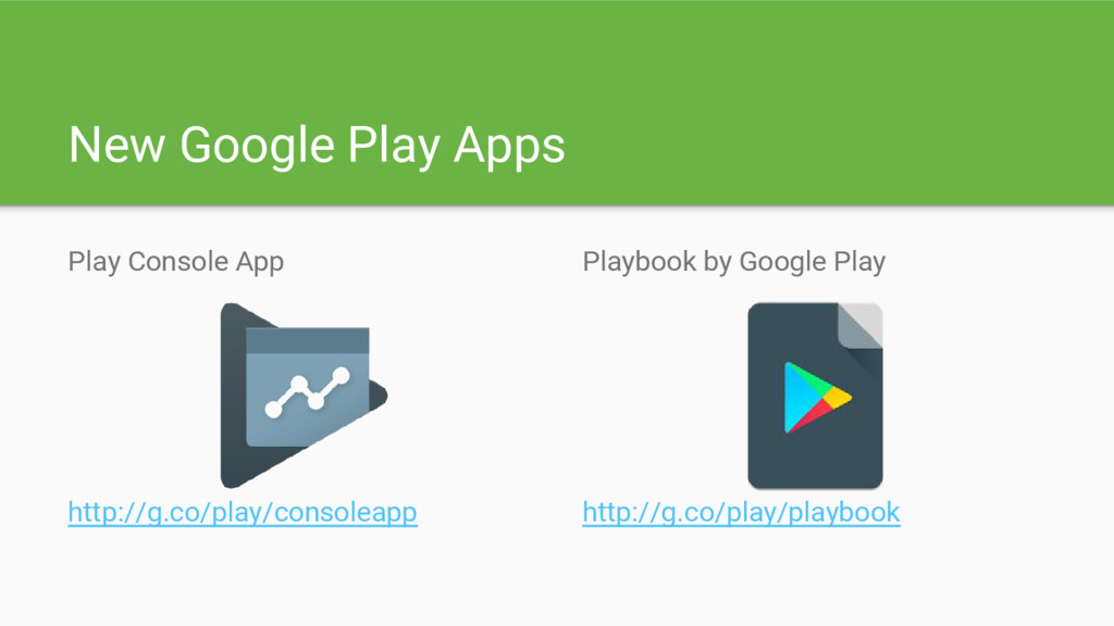 New Google Play Apps Play Console App http://g....