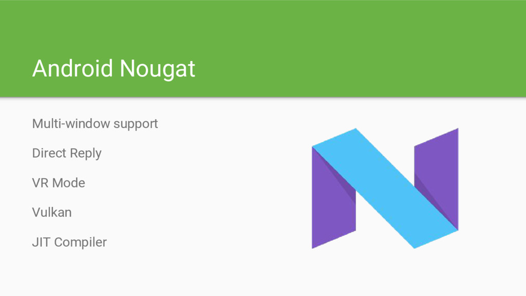 Android Nougat Multi-window support Direct Repl...