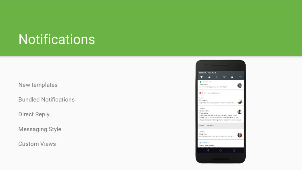 Notifications New templates Bundled Notificatio...