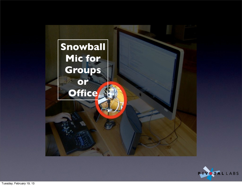 Snowball Mic for Groups or Office Tuesday, Febru...