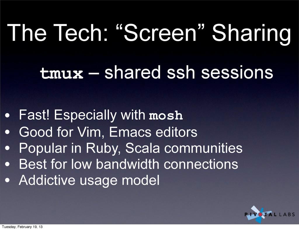 """The Tech: """"Screen"""" Sharing tmux – shared ssh se..."""
