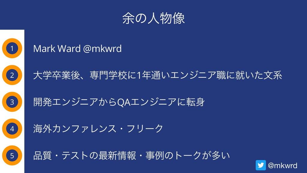 ༨ͷਓ૾ 1 Mark Ward @mkwrd 2 3 4 େֶଔۀޙɺઐֶߍʹ1௨͍Τ...