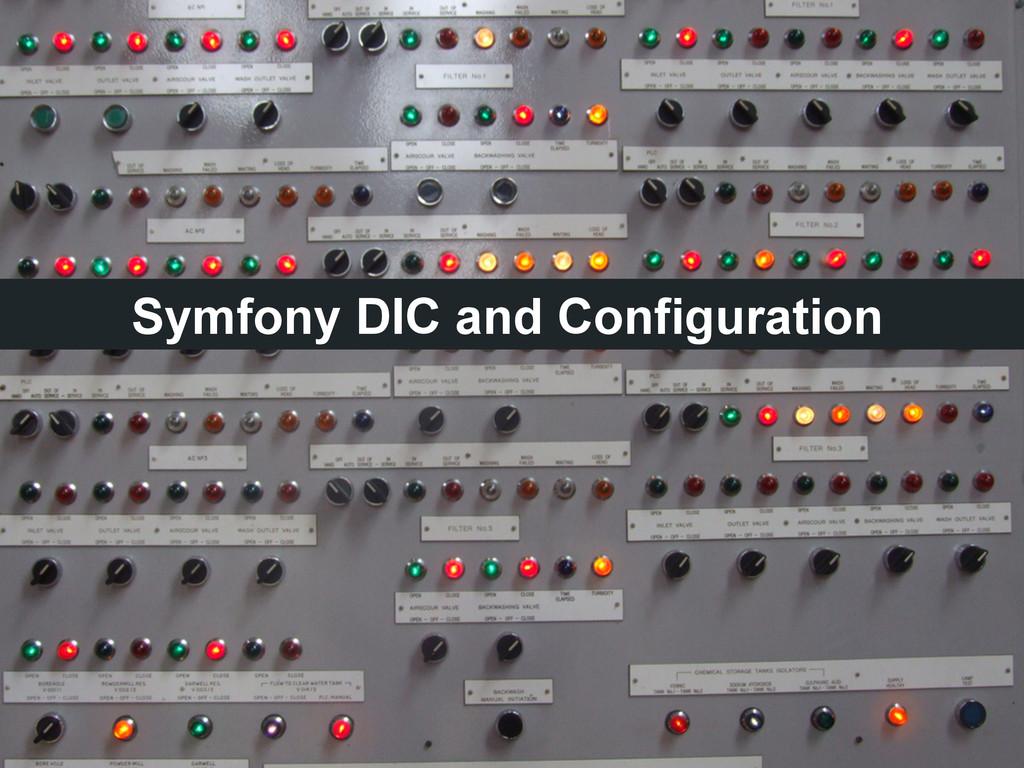 Symfony DIC and Configuration