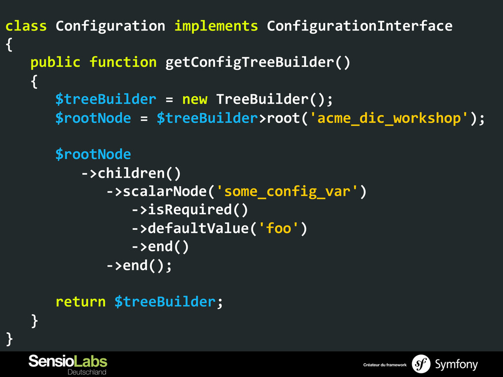 class Configuration implements Configu...